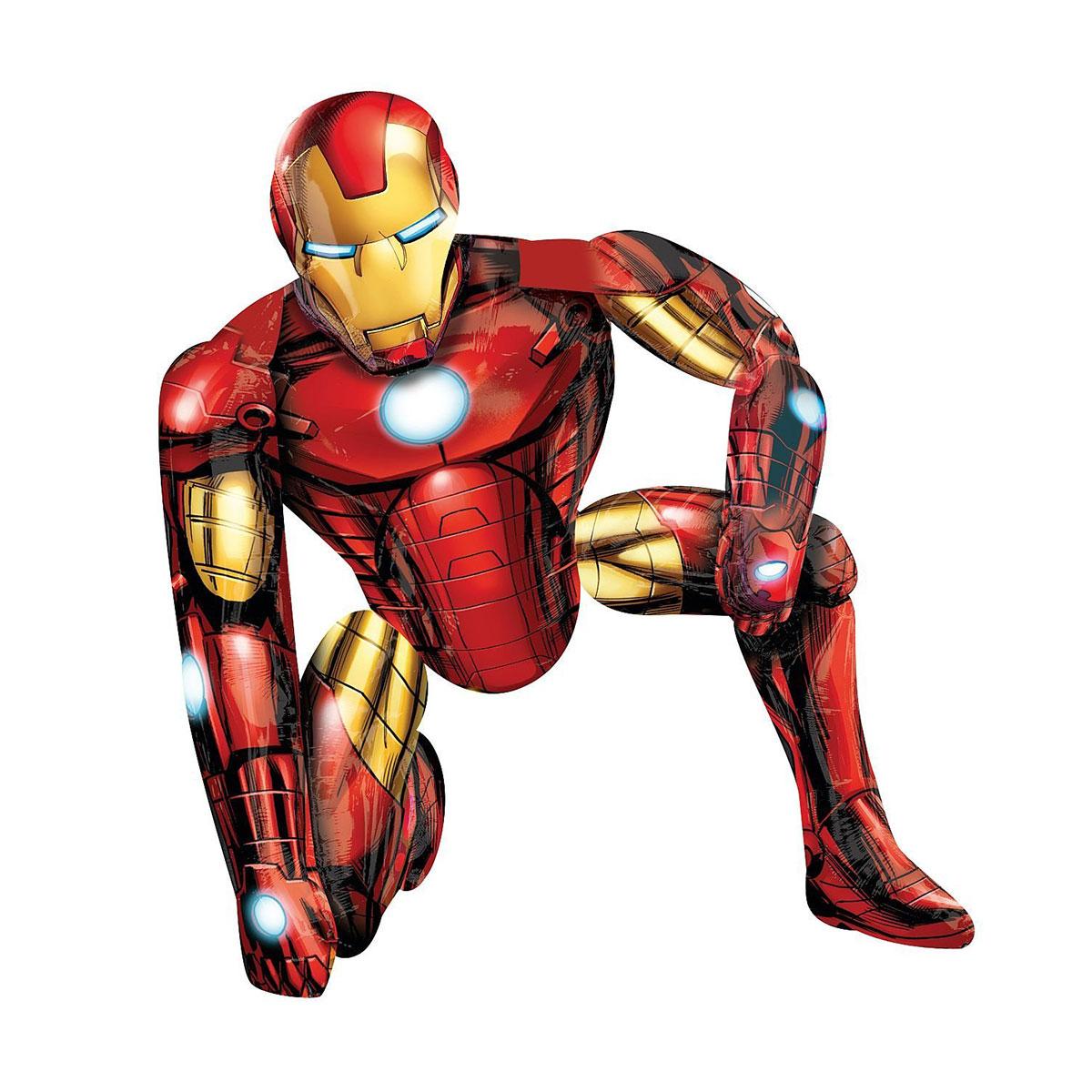 Ballon aluminium Iron Man