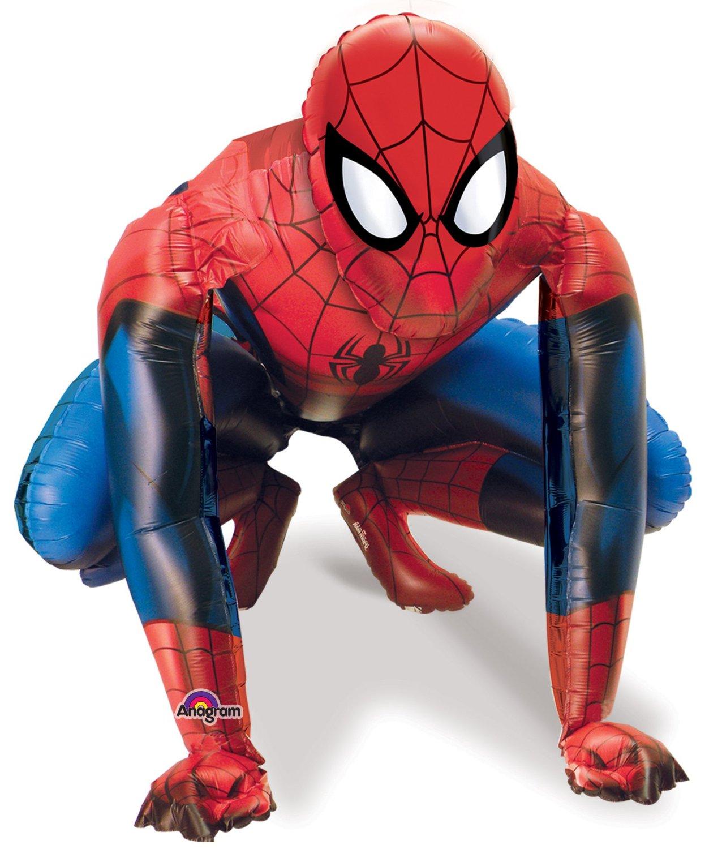 Ballon aluminium géant Spiderman