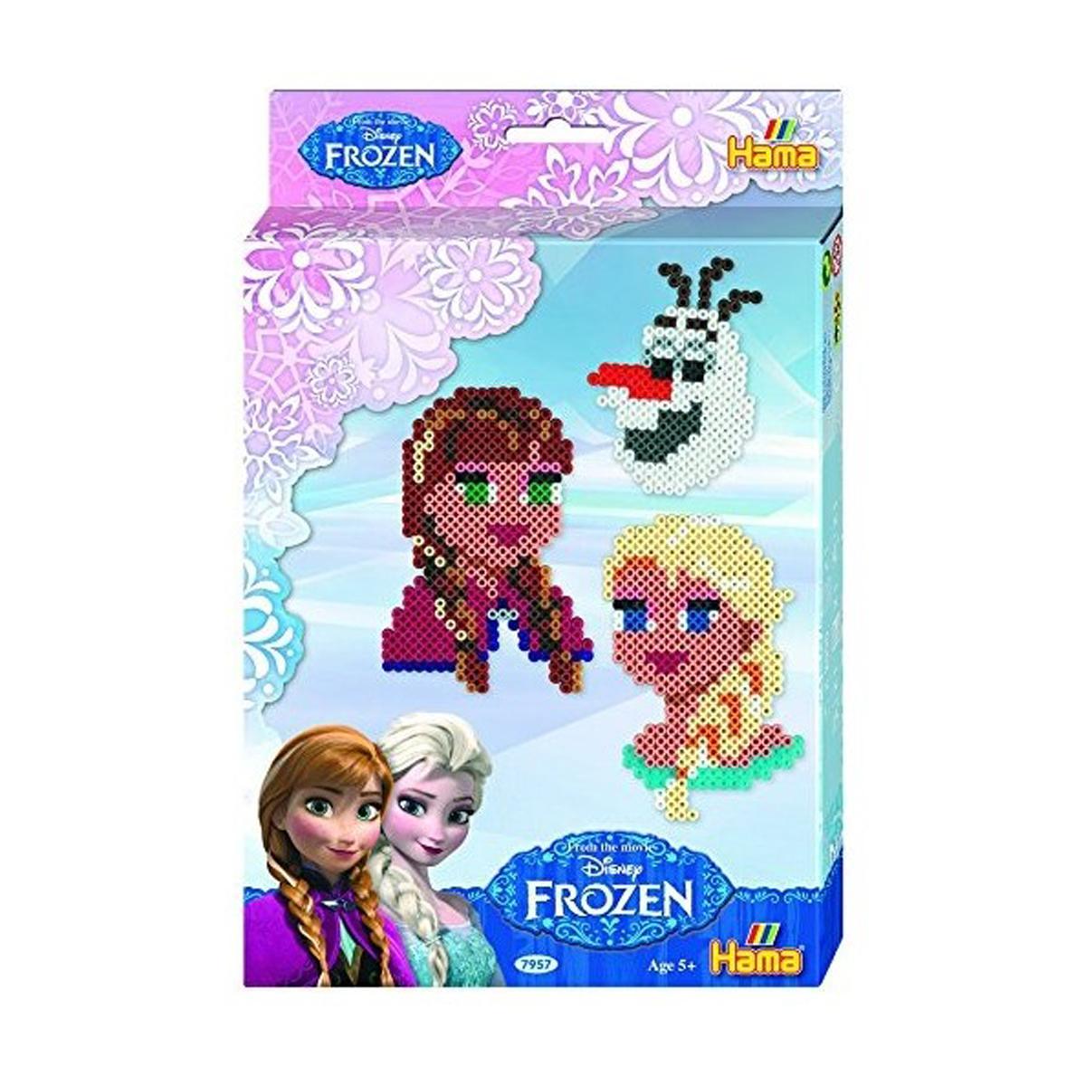 Kit Perles Hama - MIDI - visages La Reine des Neiges - 7957
