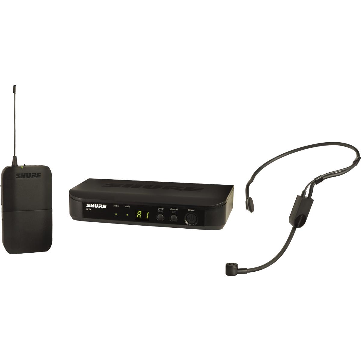Micro serre-tête, émetteur ceinture et récepteur - BLX14E-PGA31-M17