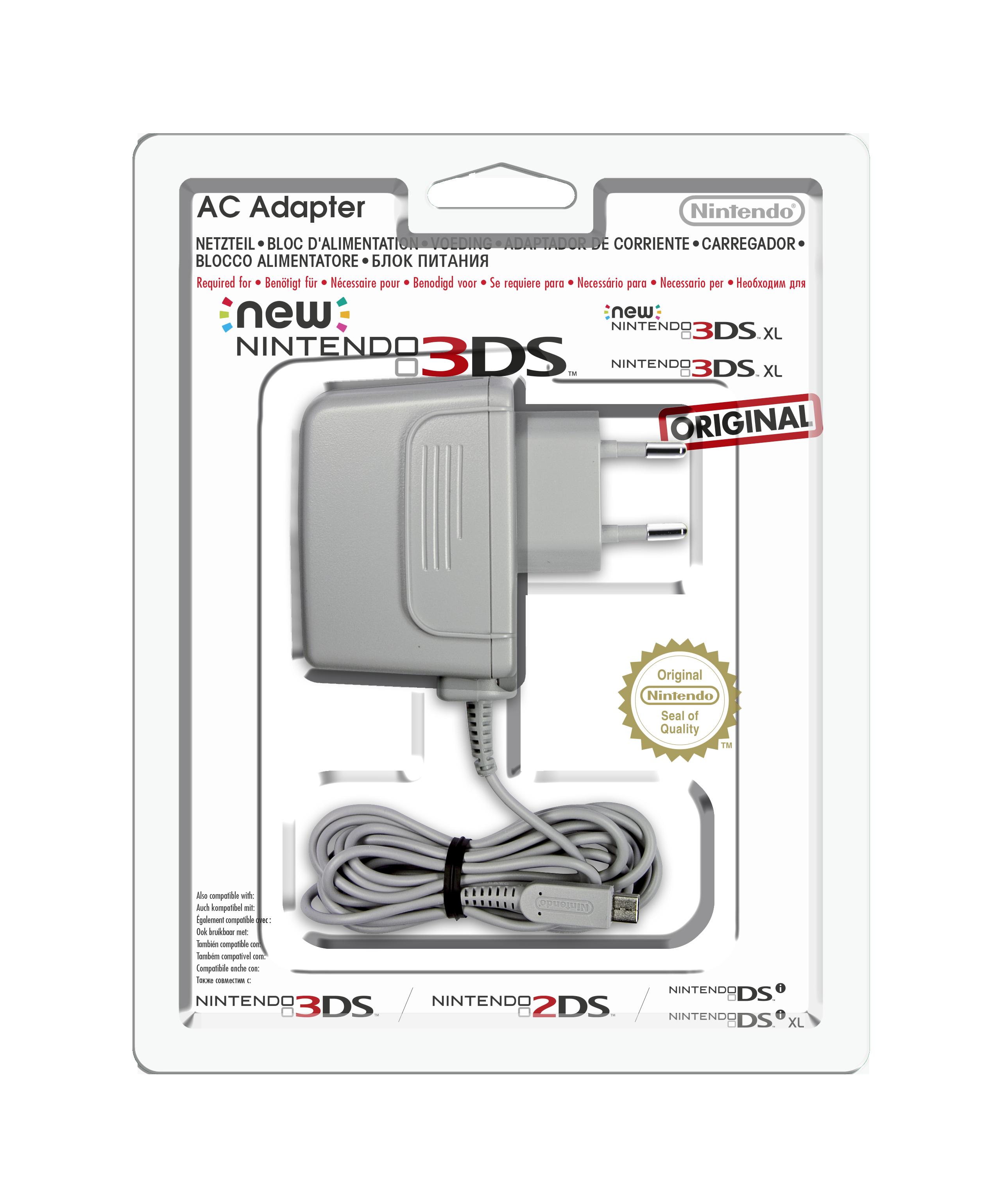 Nintendo 3ds xl bloc d'alimentation