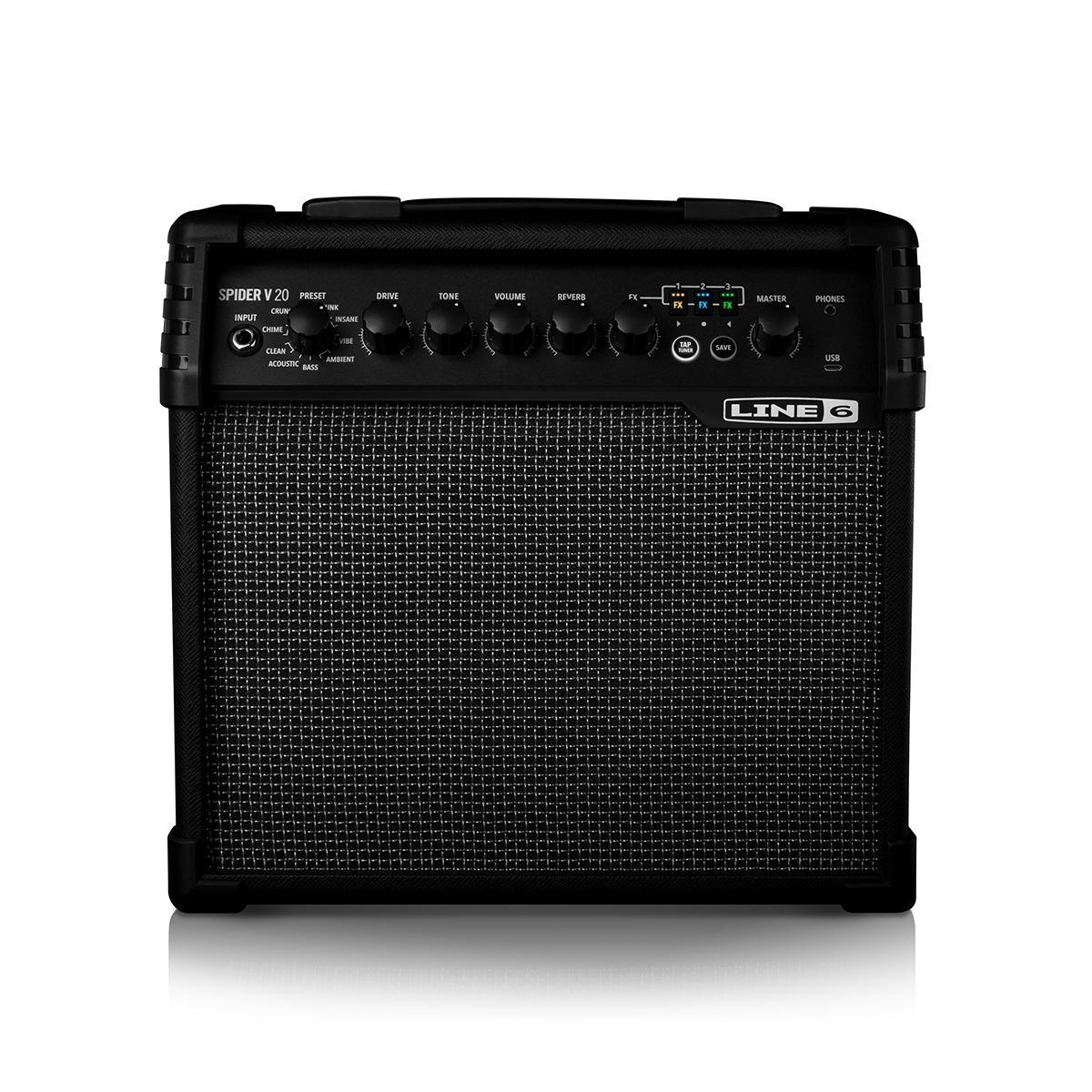 Line6 - Spider® V 20 - Ampli combo guitare