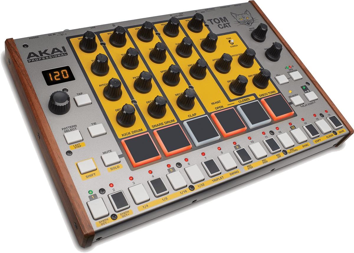 Akai - Tom Cat Boîte à rythme analogique