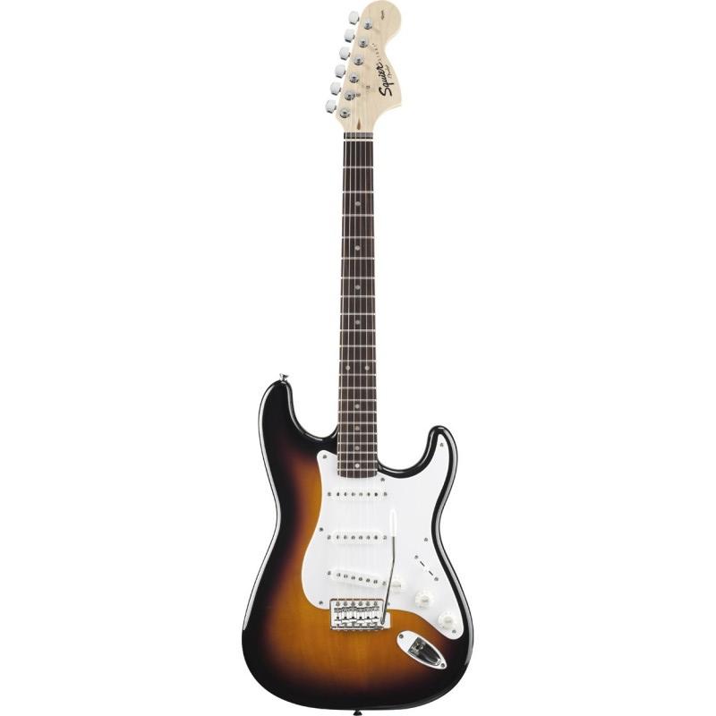 Squier - Stratocaster Brown Sunburst Affinity