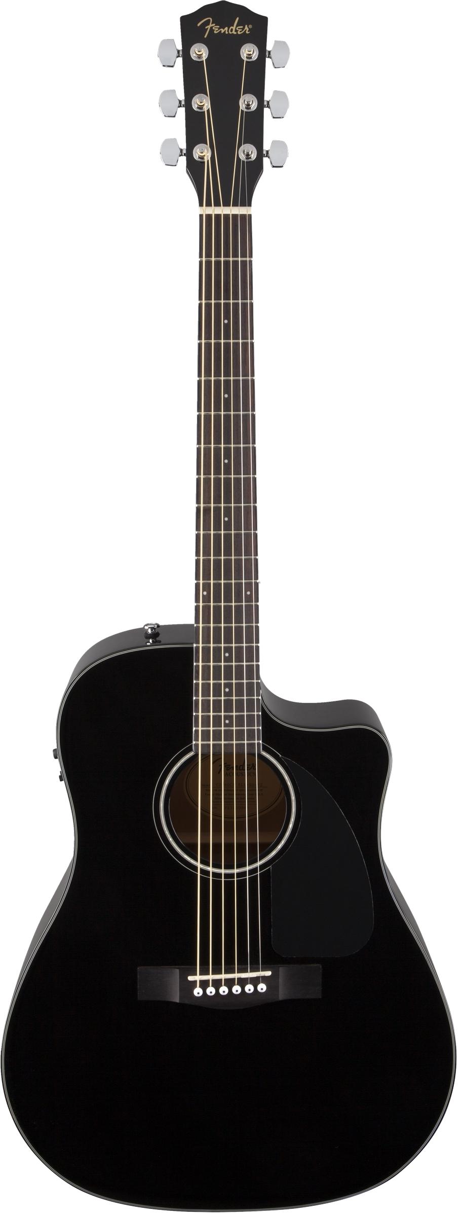 Fender - CD-60CE Black V2