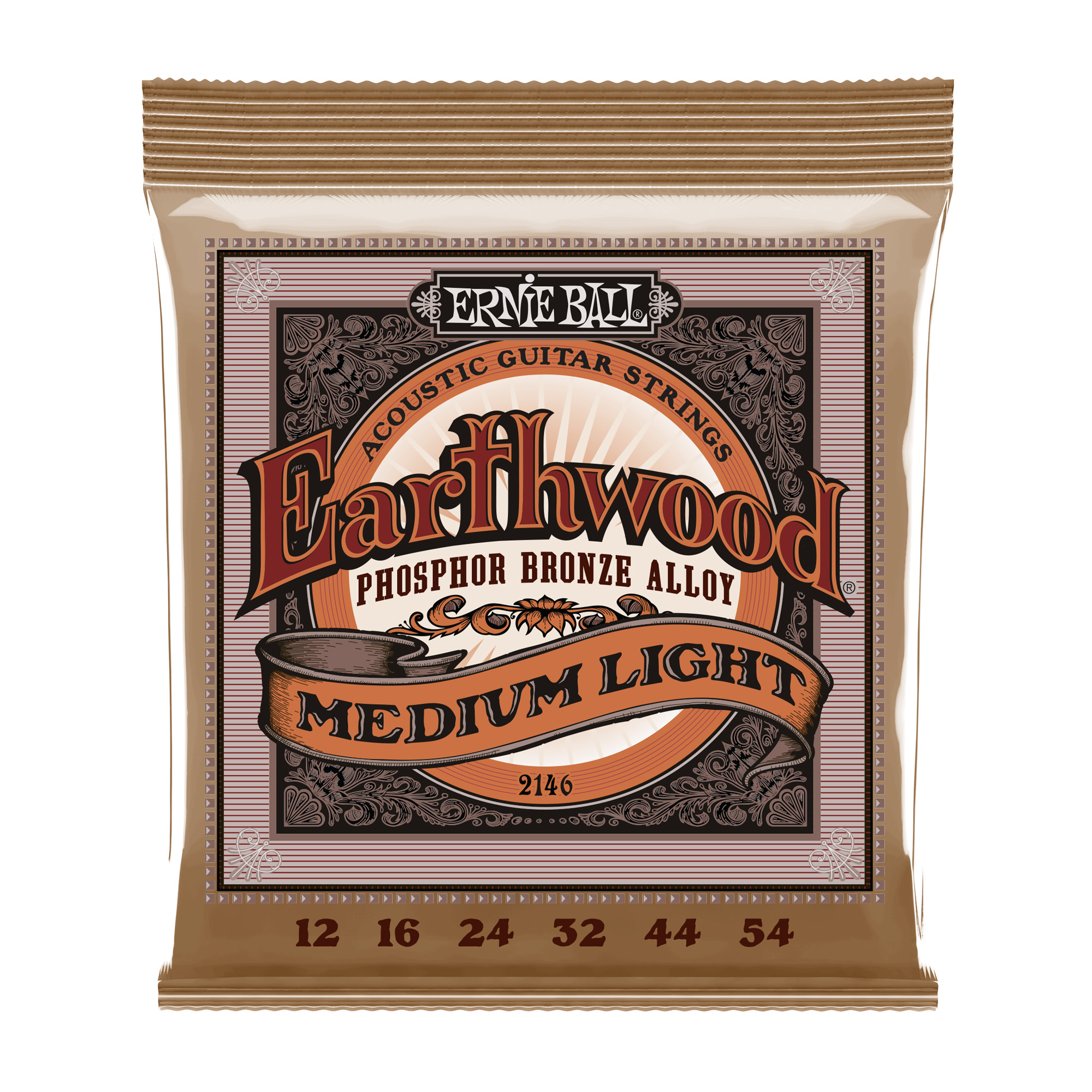 EARTHWOOD PHOSPHOR BRONZE MEDIUM LIGHT PHOSPHOR BRONZE