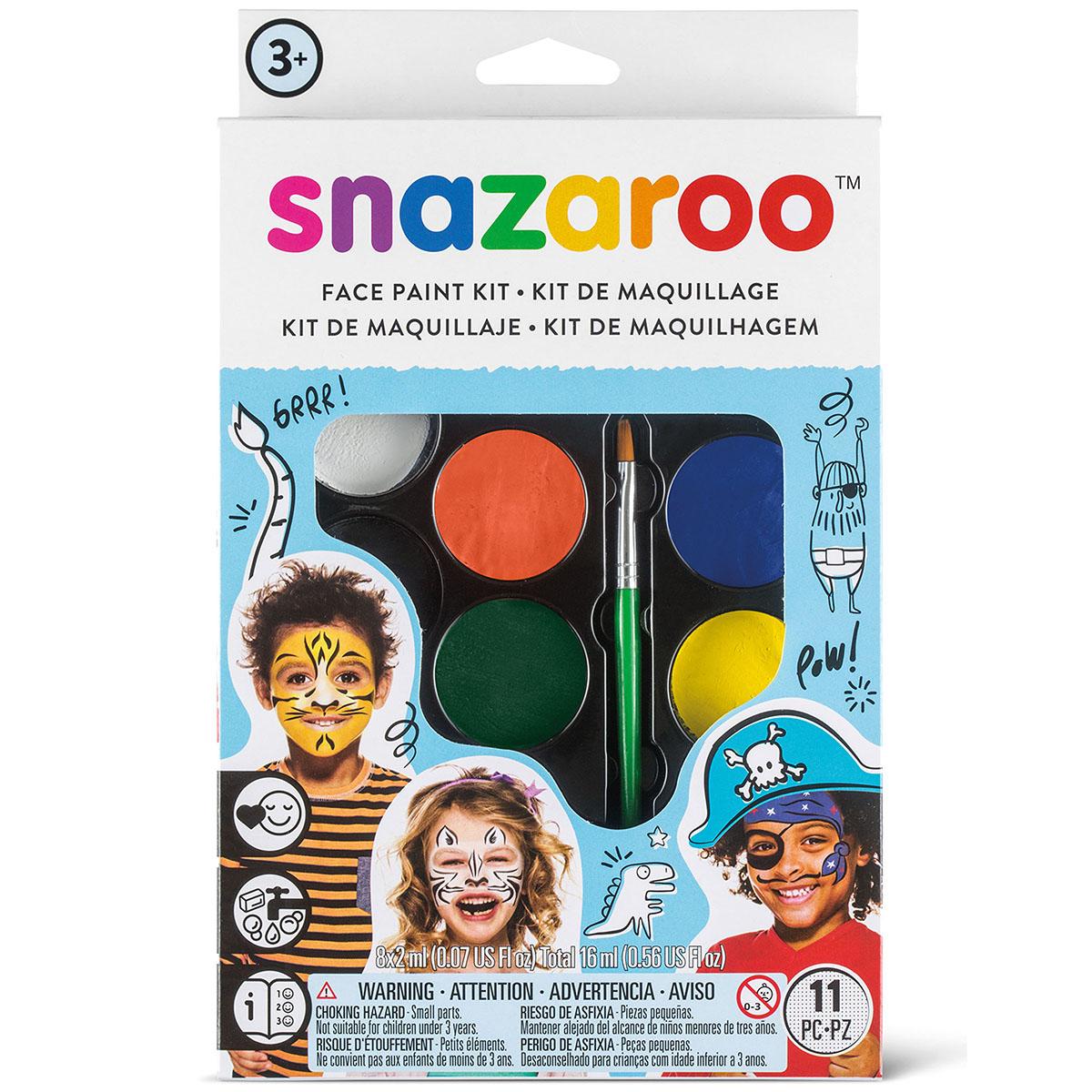 Palette de maquillage - Aventure Snazaroo - 8 couleurs