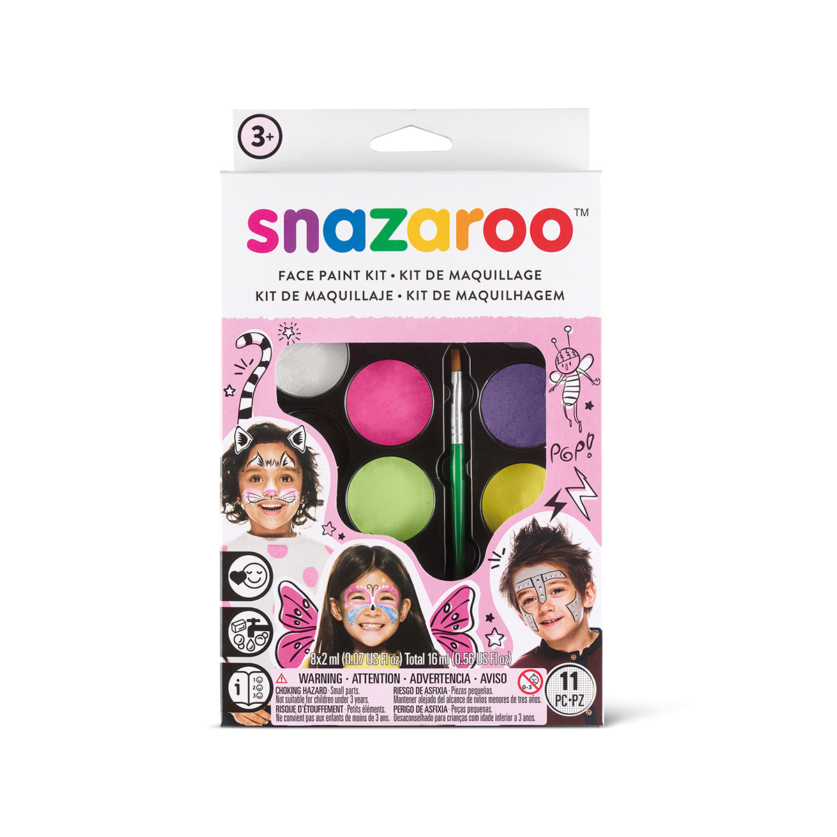 Palette de maquillage - fille - Snazaroo