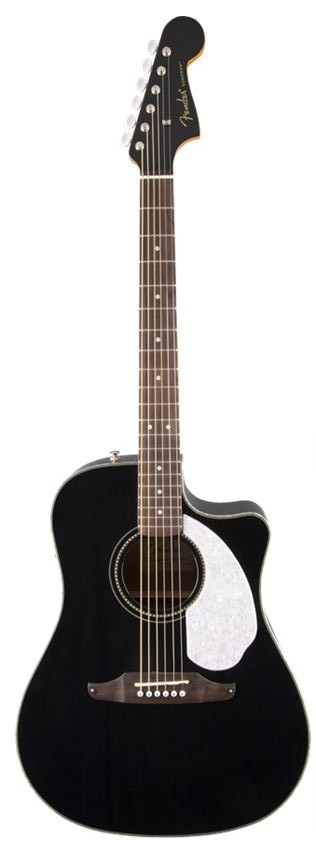 Fender - Sonoran SCE Black V2 California