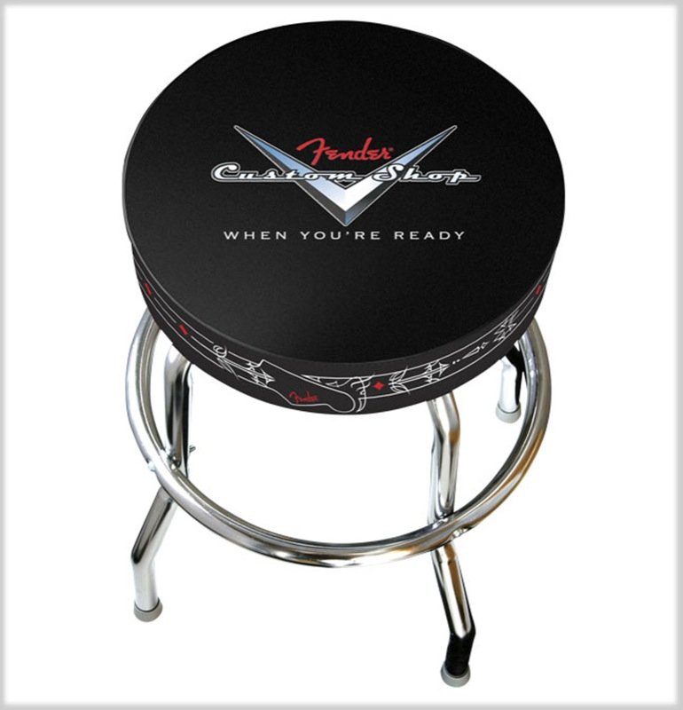 Fender - Tabouret de bar hauteur 61 cm Custom Shop