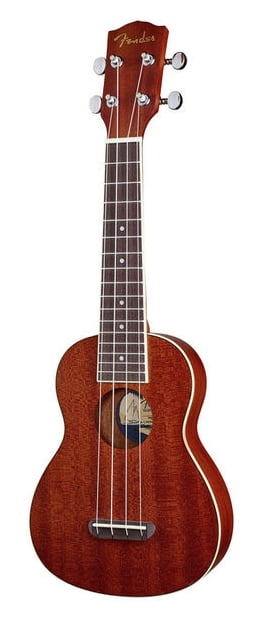 Fender - Ukulele soprano Seaside naturel