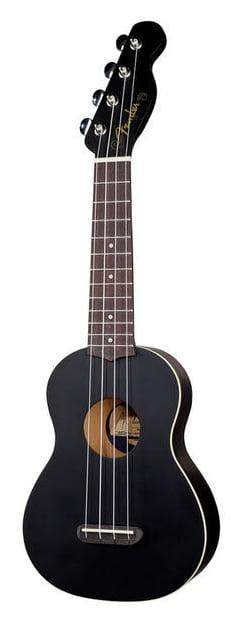 Fender - Ukulele soprano Venice noir