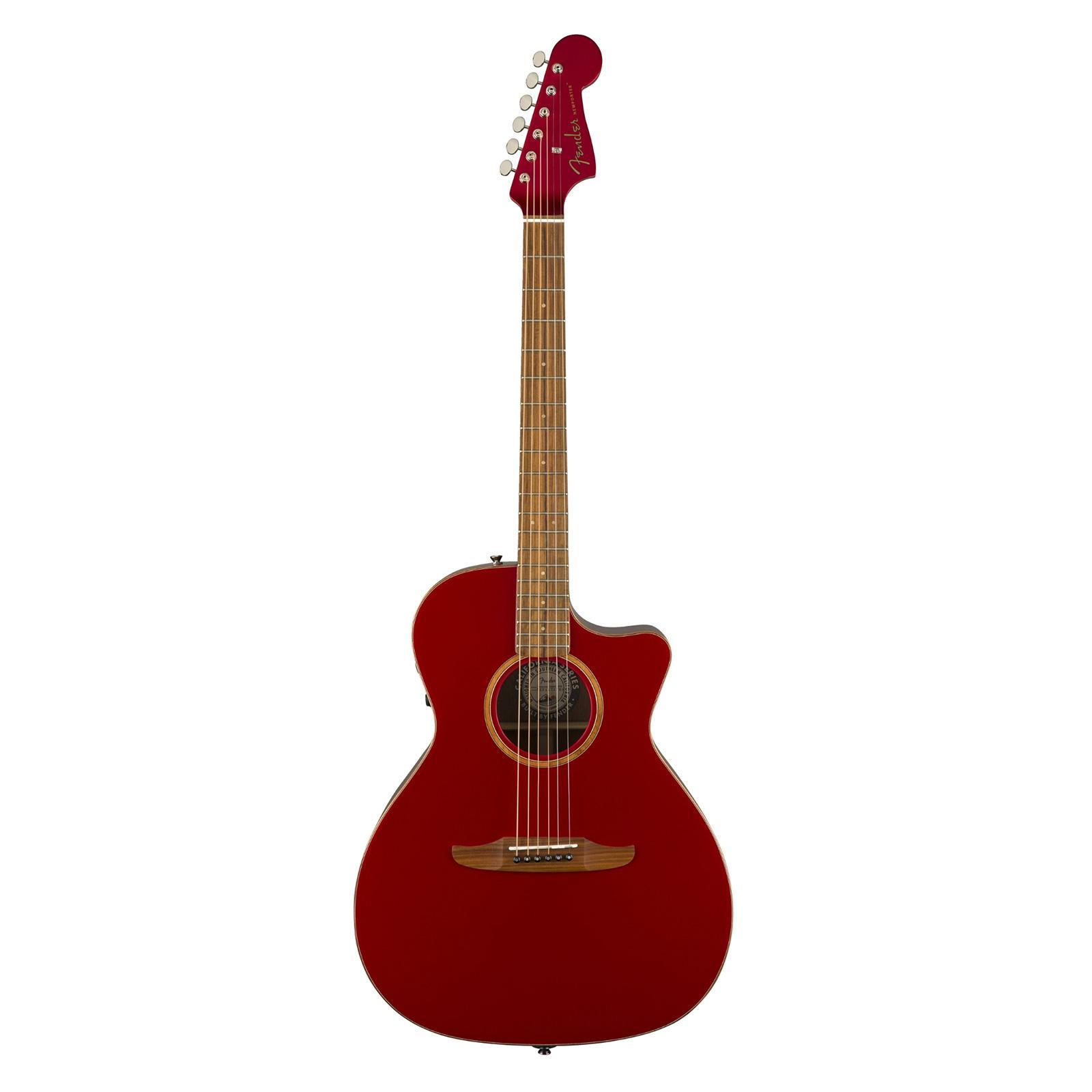 Fender - Guitare Newporter Classic - rouge