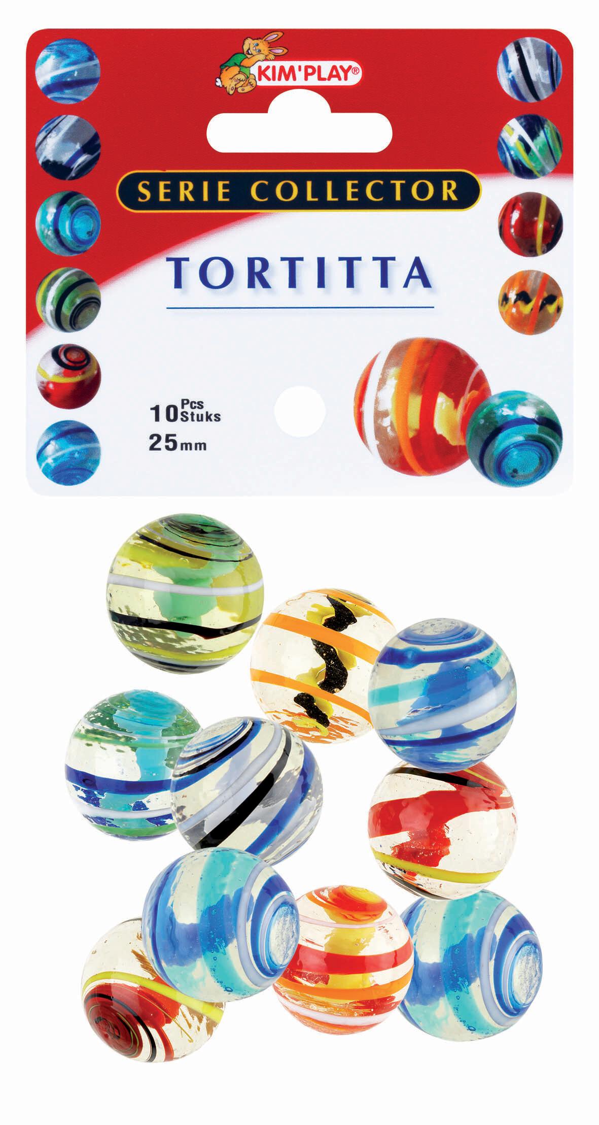 10 calots Tortitta - D 25 mm