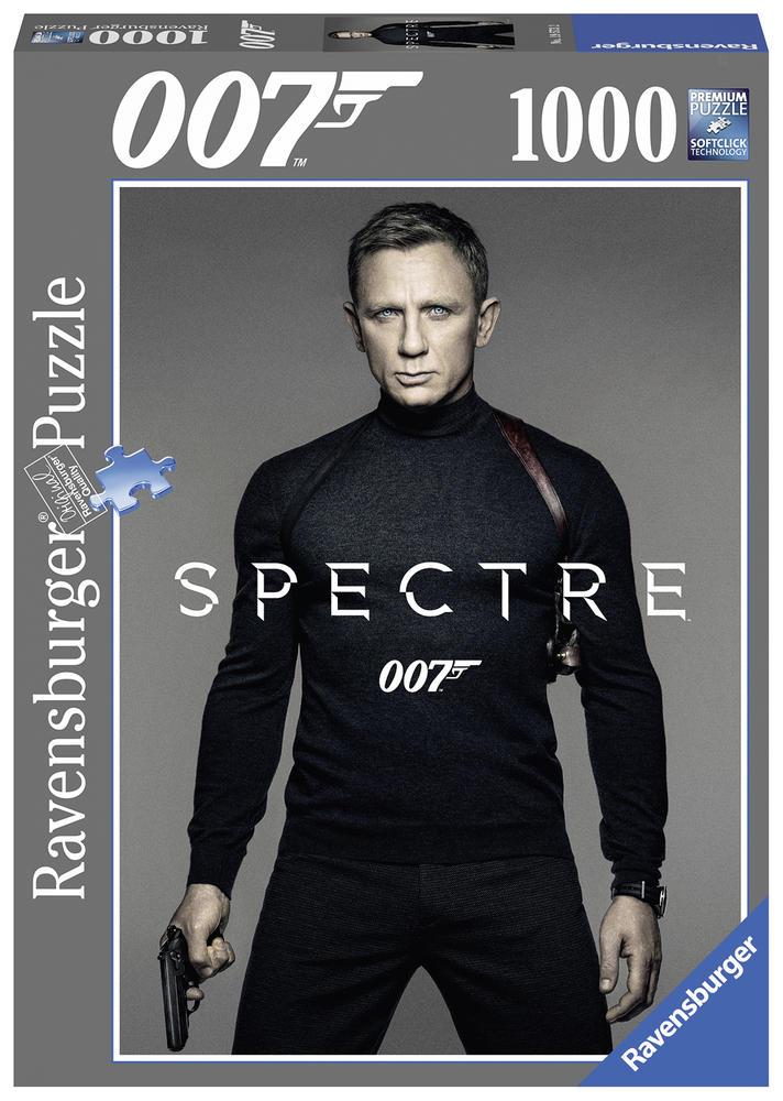 Puzzle 1000 pièces - James Bond Spectre - Ravensburger