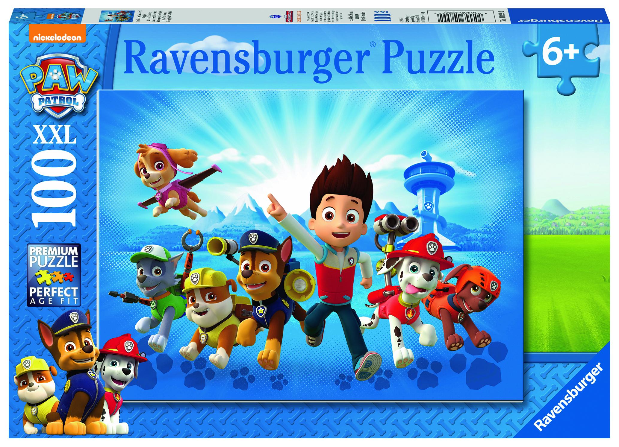Puzzle 100 pièces - L'équipe Pat Patrouille - Ravensburger
