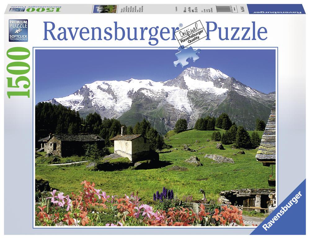Puzzle 1500 pièces - Le Monal Saint-Foy Tarent - Ravensburger