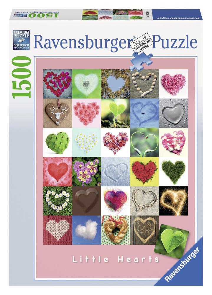 Puzzle 1500 pièces - Little Hearts - Ravensburger