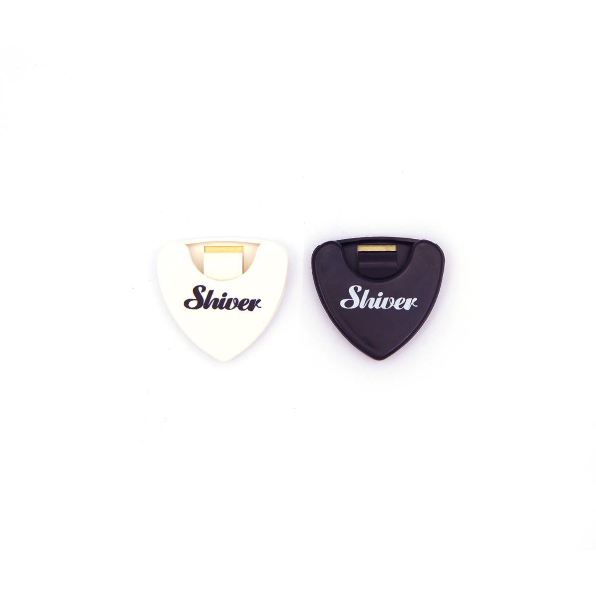 Shiver - Lot de 2 porte-médiators adhésifs