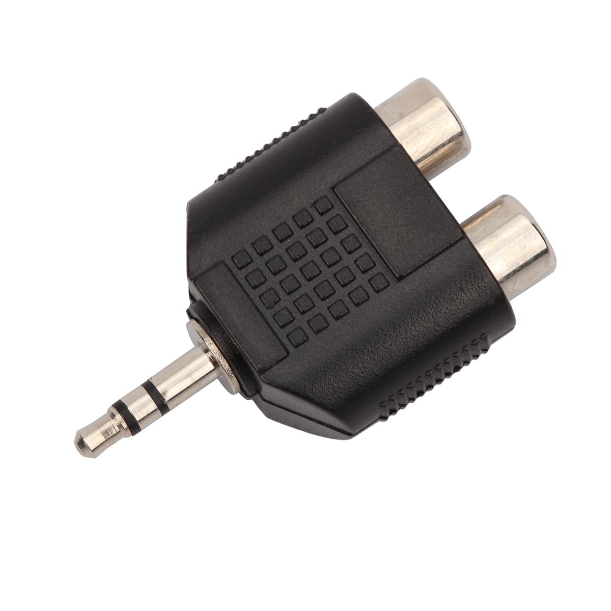 Shiver - Adaptateur 2x RCA femelle / 3,5mm stéréo