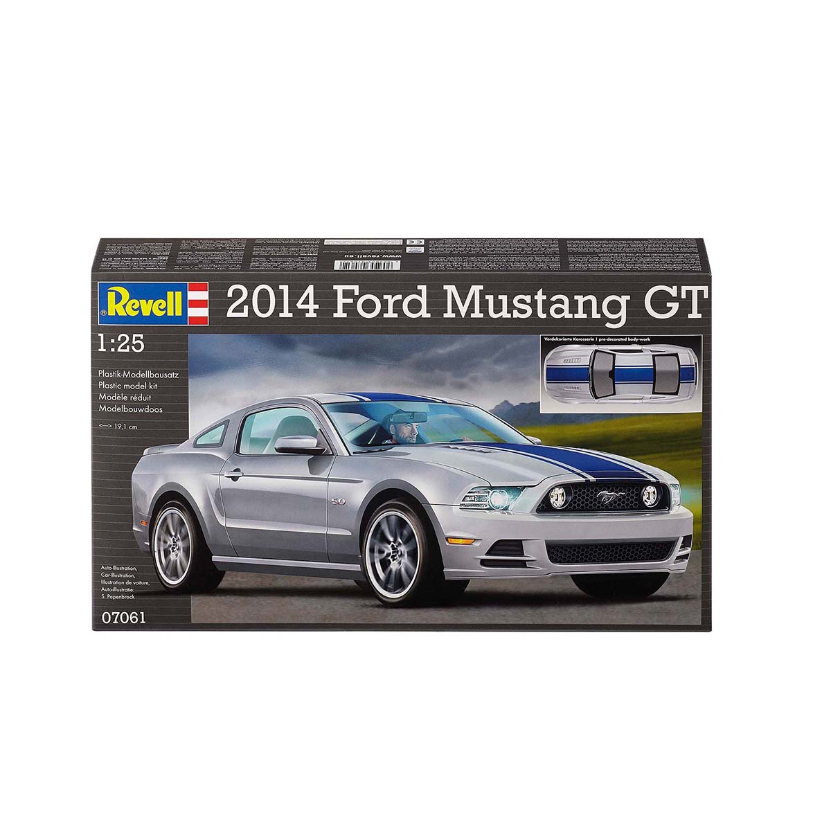 Maquette voiture - 2014 - Ford Mustang GT