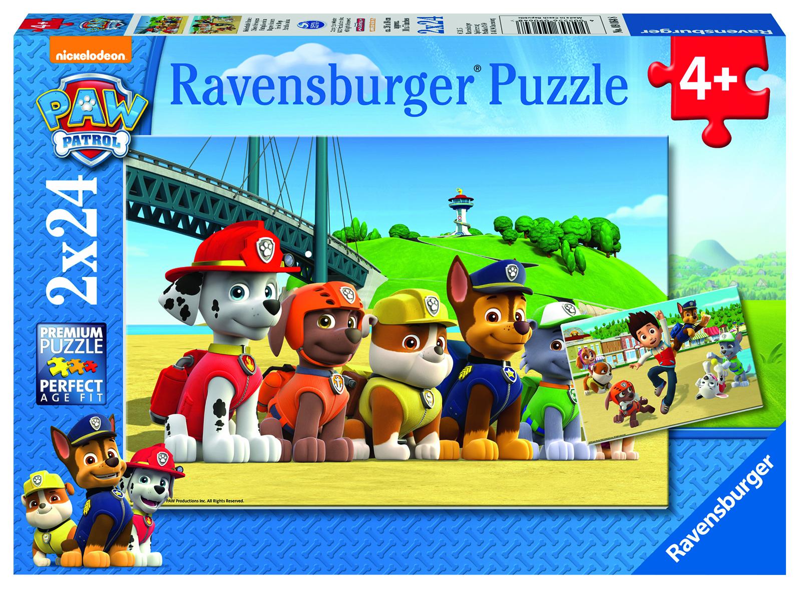 Puzzles Pat Patrouille -  2 x 24 pièces
