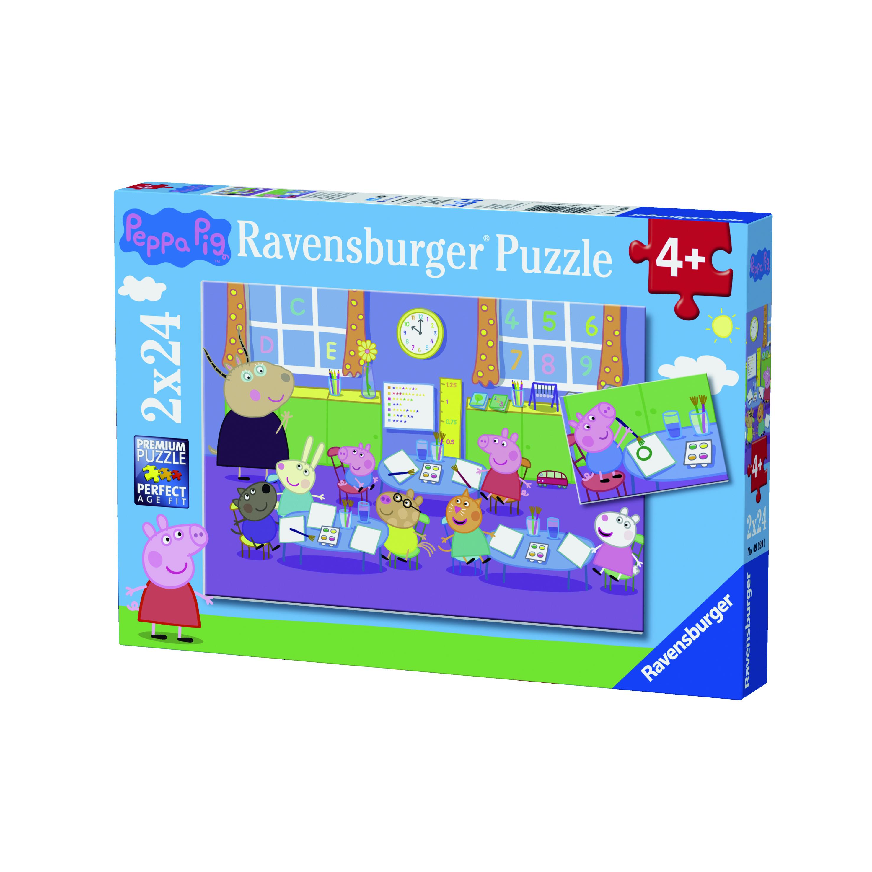 Puzzle 2x24 pièces - Peppa Pig - Ravensburger