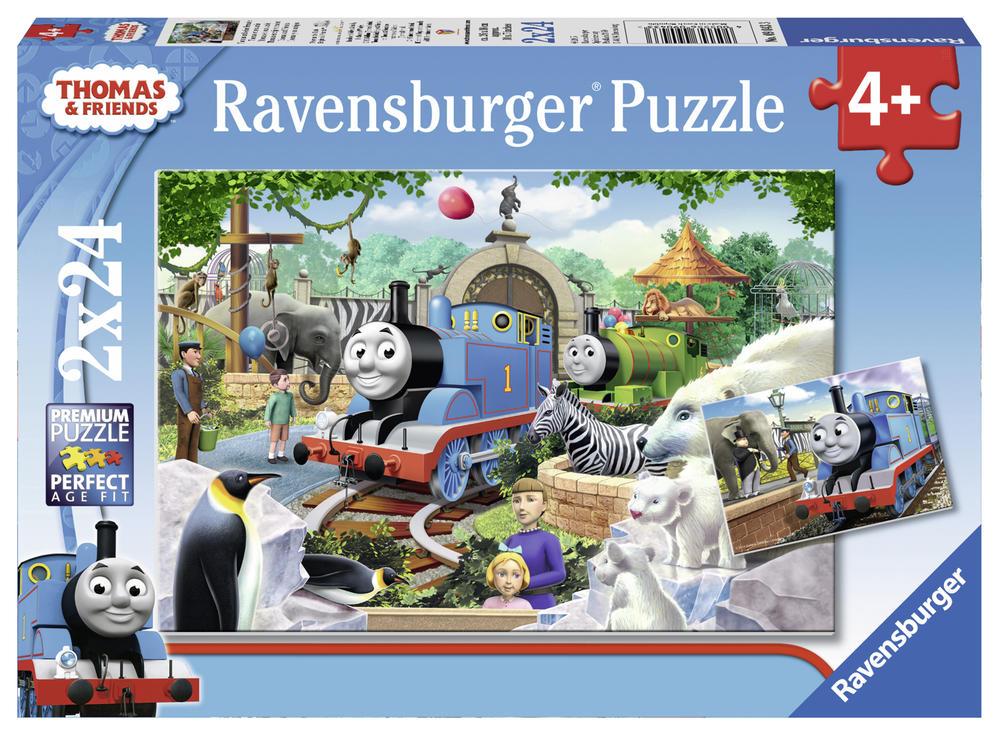 Puzzle 2x24 pièces - Thomas et ses amis - Ravensburger