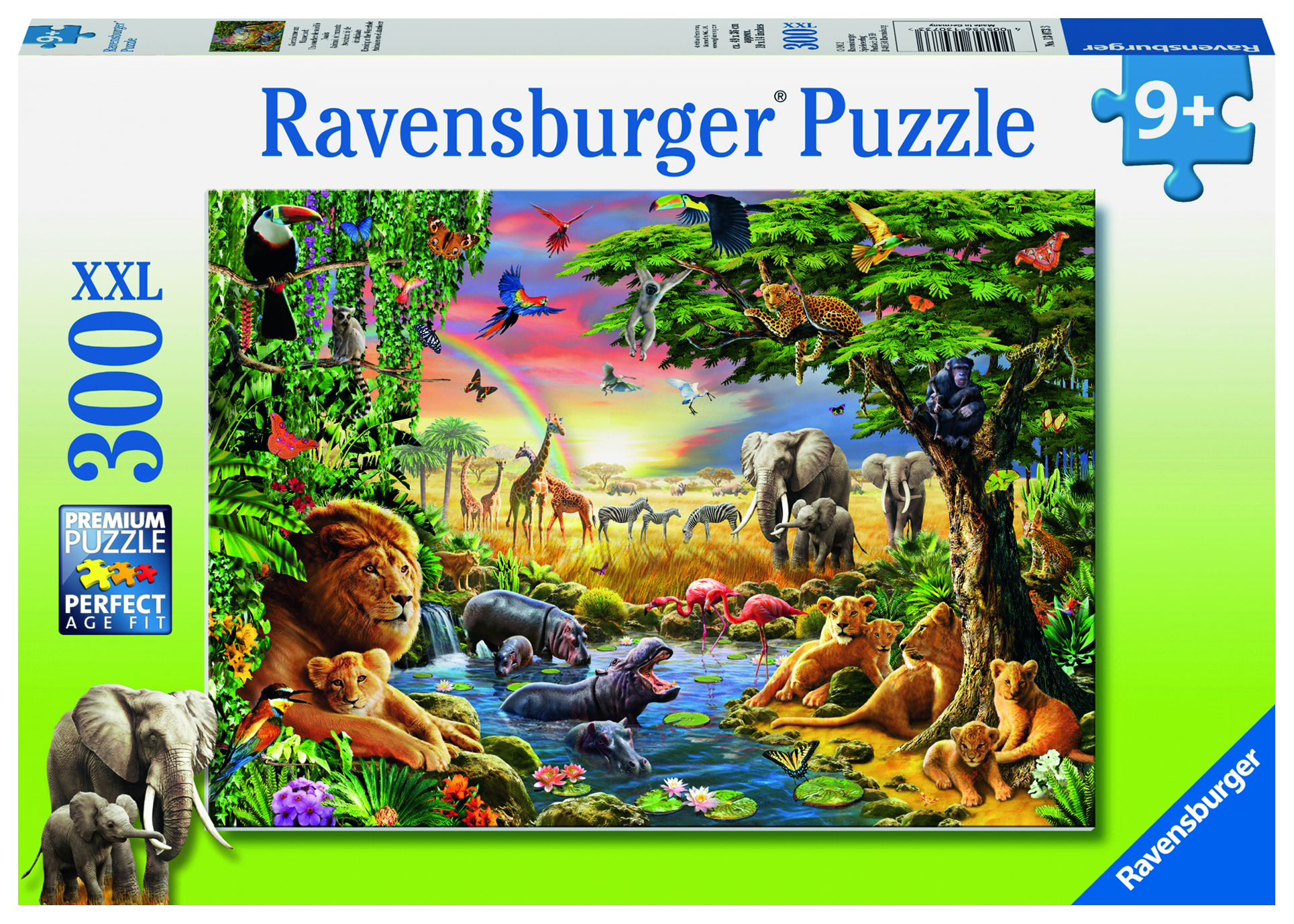 Puzzle 300 pièces - Coucher de soleil à l'oasis - Ravensburger - 49x36 cm