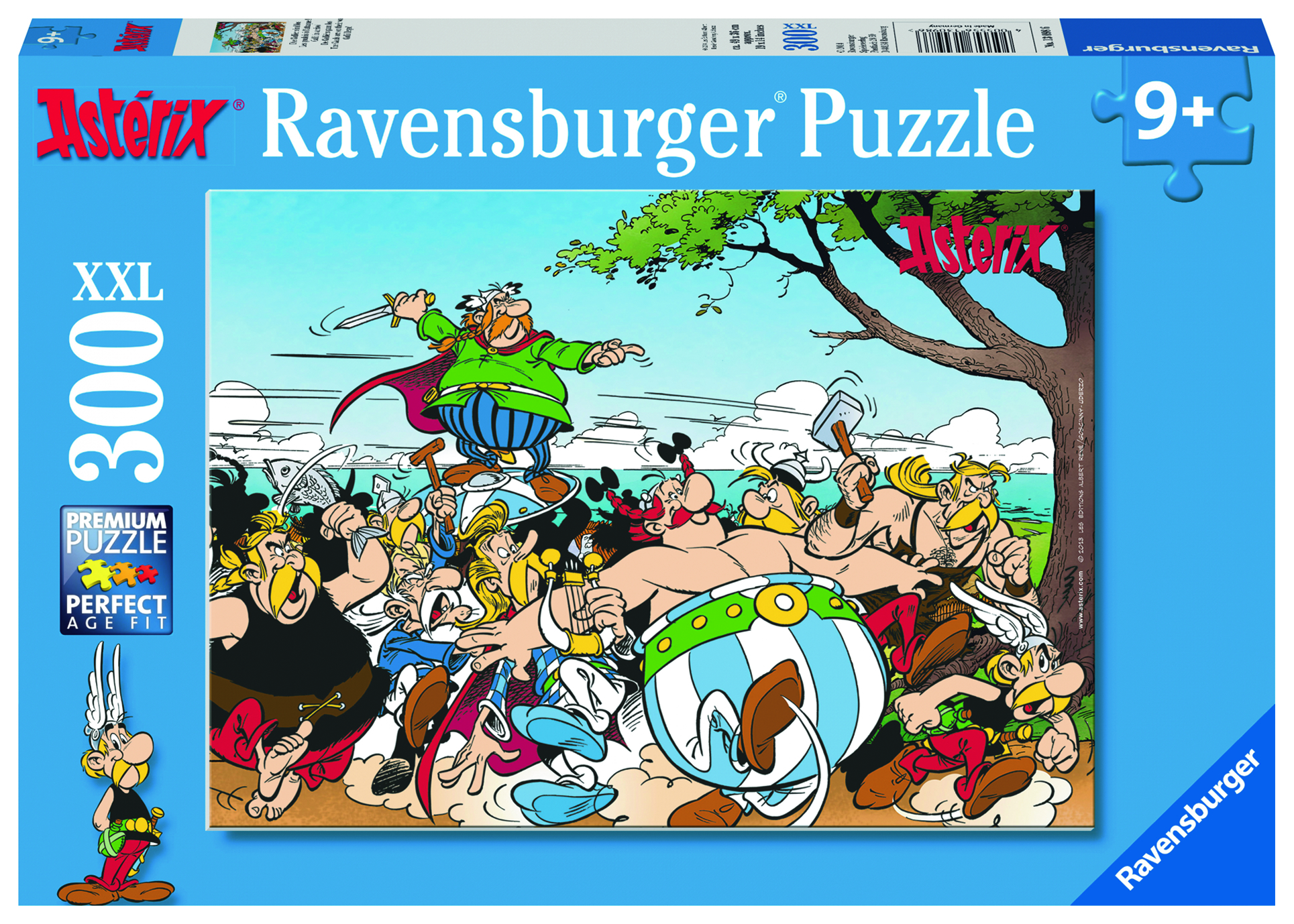 Puzzle 300 pièces XXL - Astérix : Les gaulois à l'attaque - Ravensburger - 61x46 cm