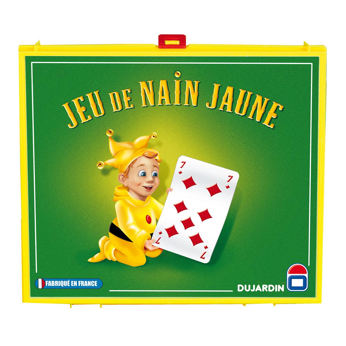 Nain jaune et cartes
