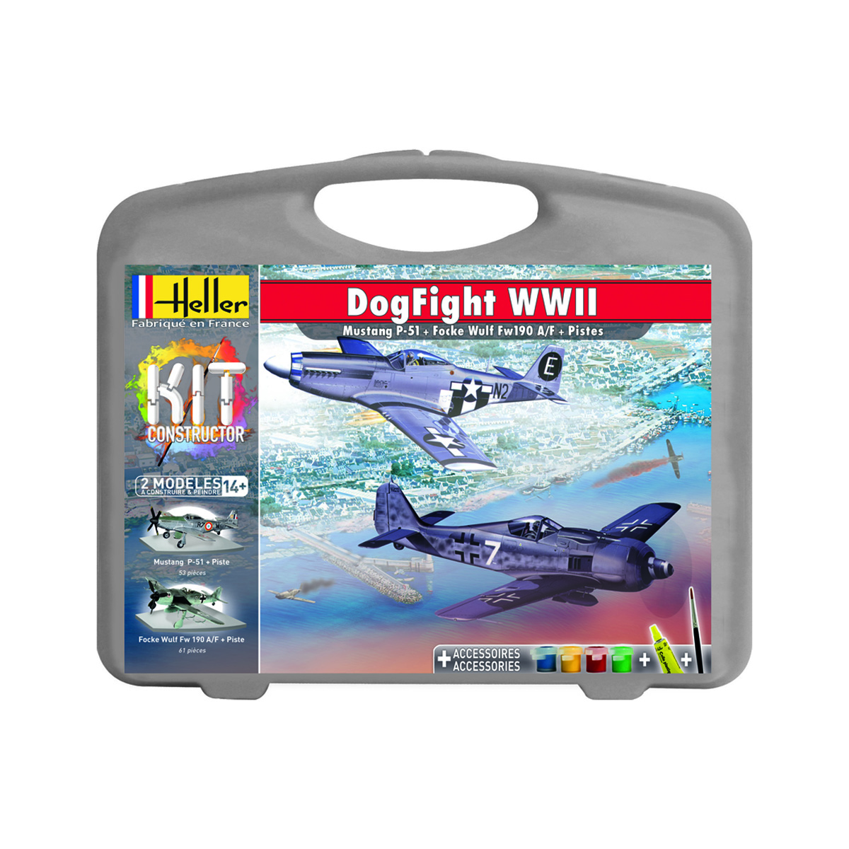 DogFight WWII- Mustang vs Focke Wulf (+ 2 pistes)