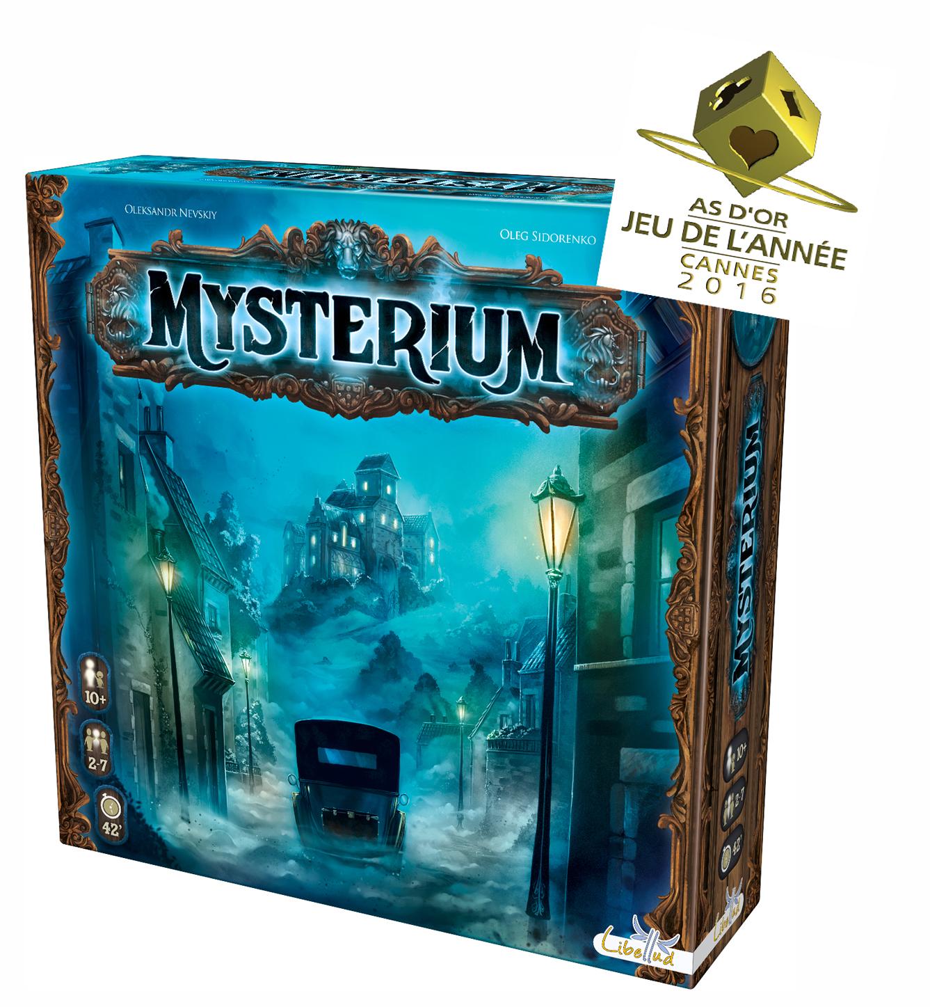 Mysterium - Prix As d'or jeu de l'année 2016