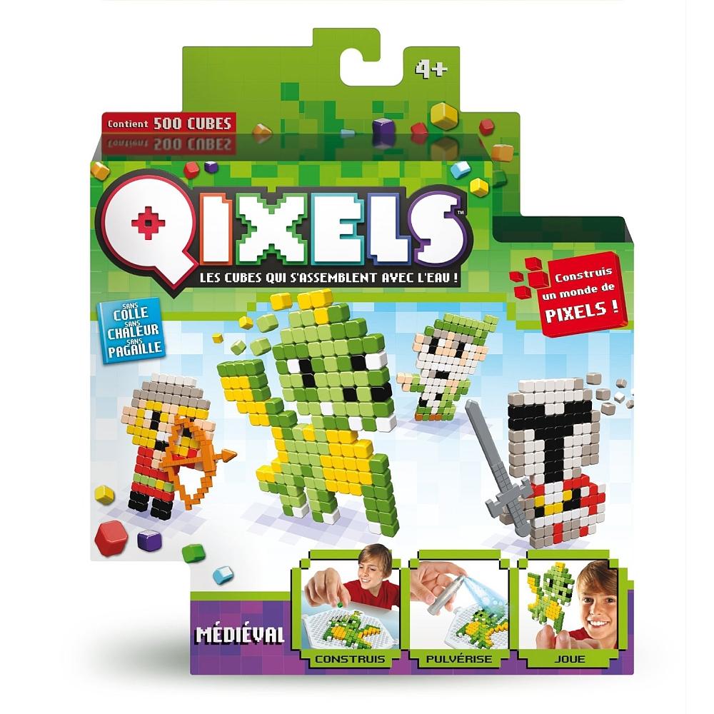 Mini kit Qixels - Médiéval