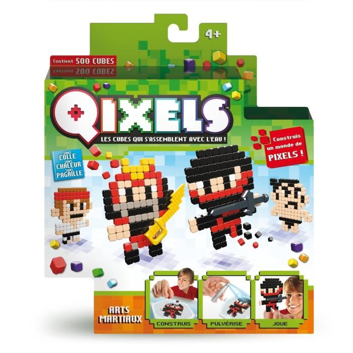 Mini kit Qixels - Art martial