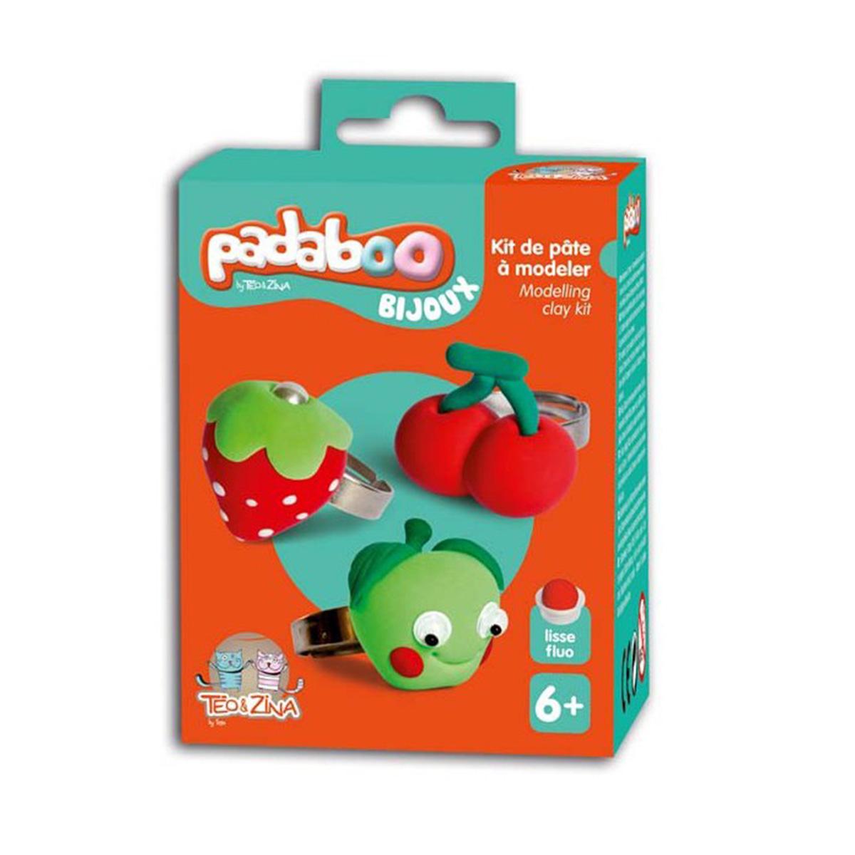 Padaboo Bijoux - 3 bagues fruits