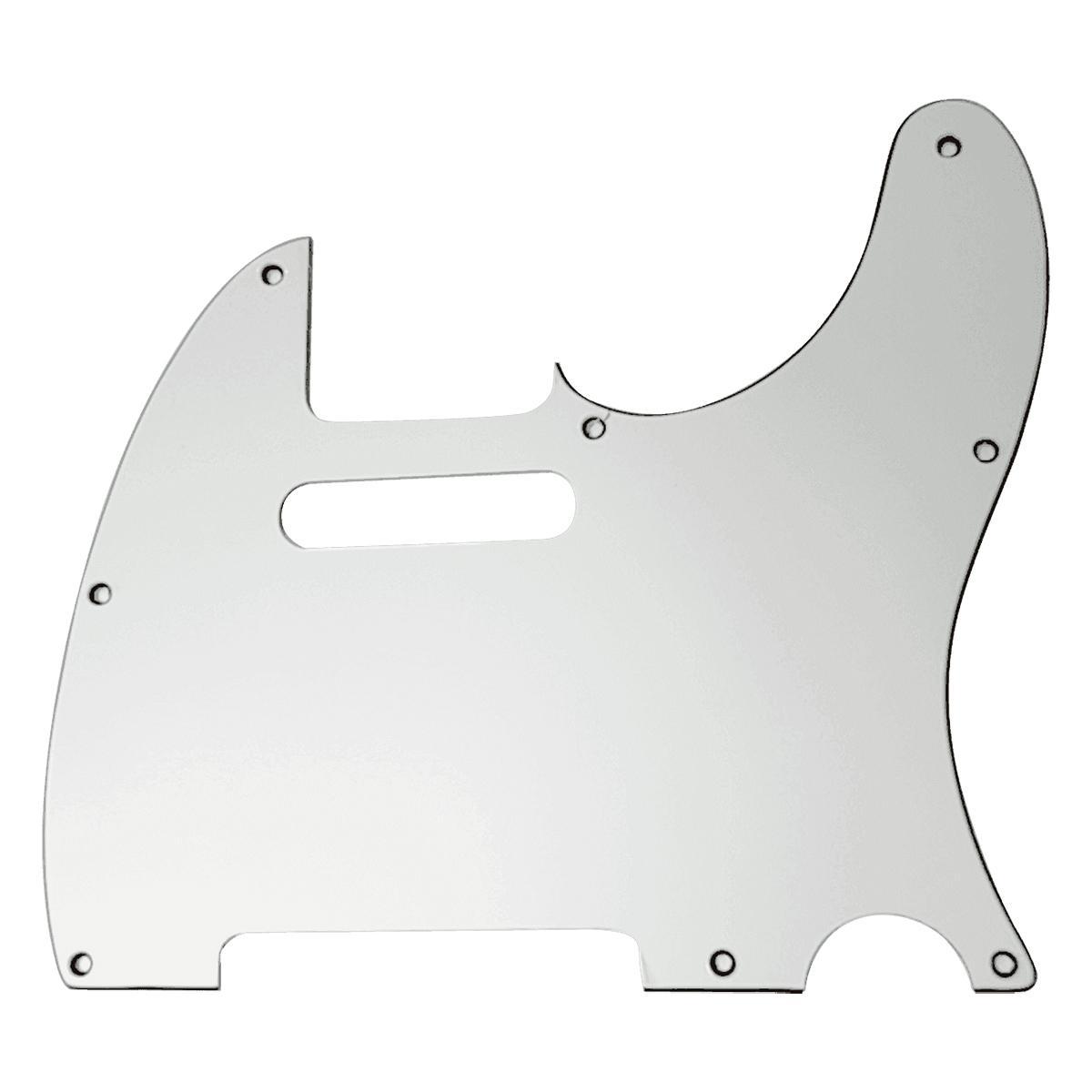 Yellow Parts - ADI EZ2101W - Pickguard Telecaster  Blanc