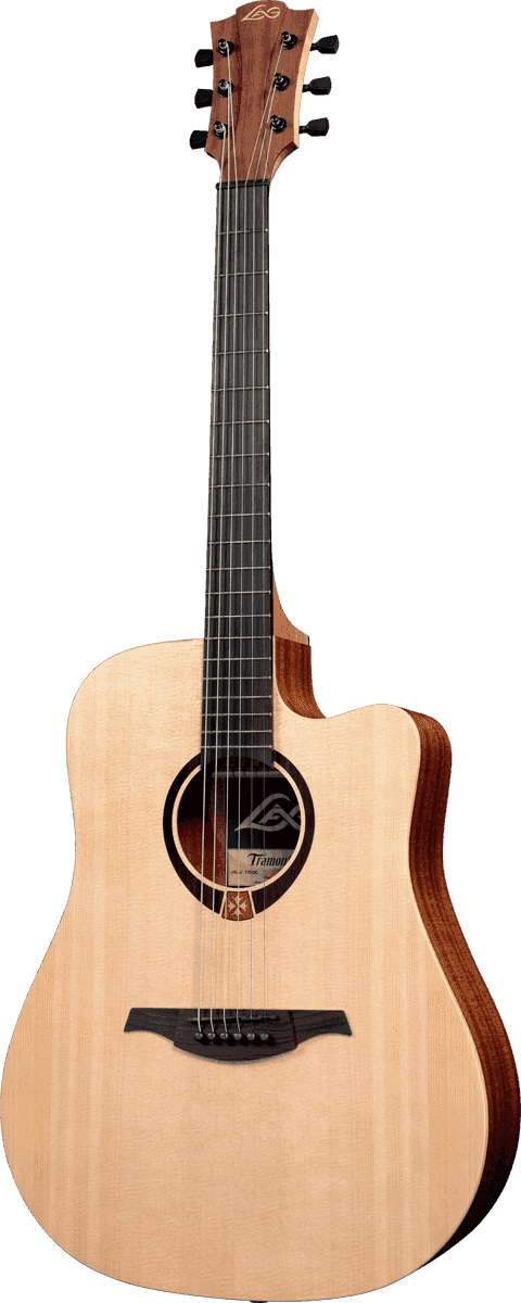 Lag - T70DCE Dreadnought Cutaway Naturel