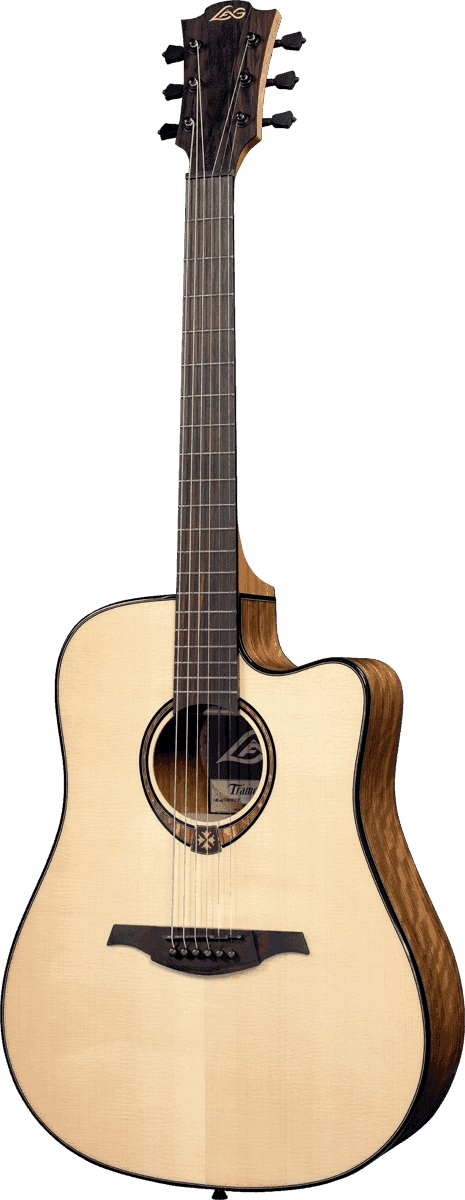 Lag - T300DCE Dreadnought Cutaway Naturel
