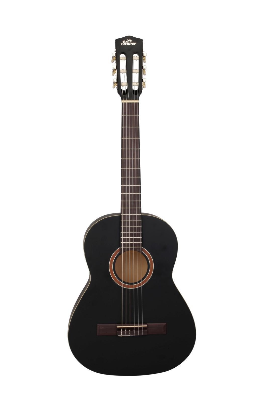 Shiver - Guitare Classique GCS-3/4 noire