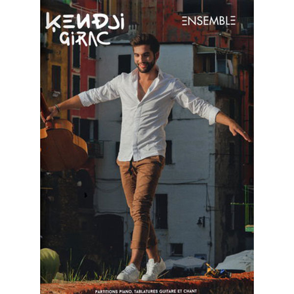 Partition - Piano, chant, guitare - Kendji Girac Ensemble