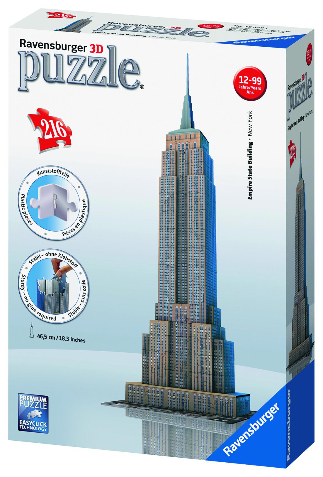 Puzzle 3D Empire State Building 216 pièces