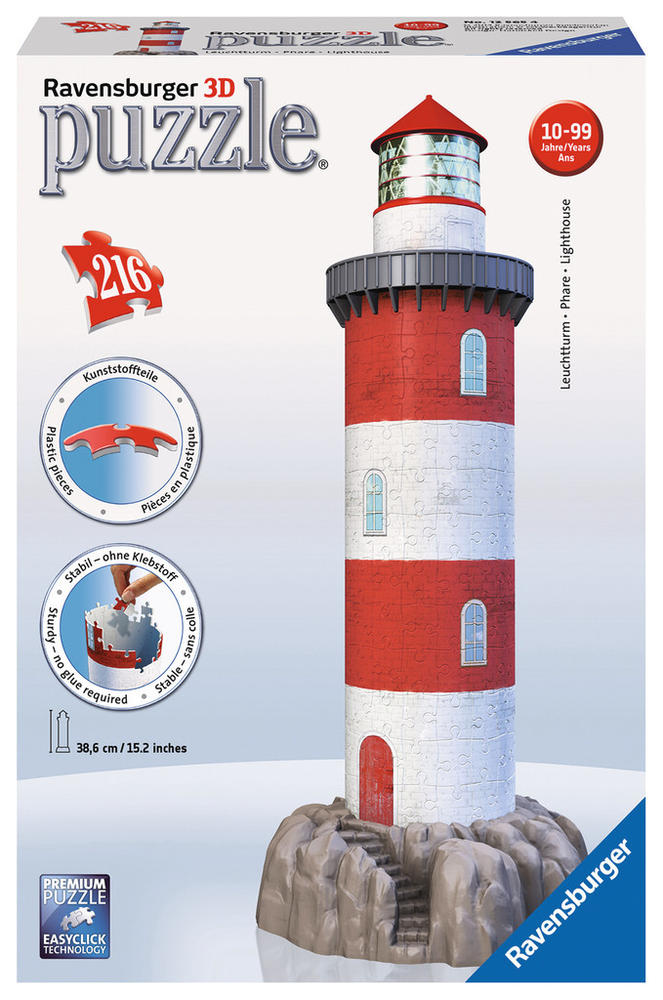 Phare  - Puzzle 3D