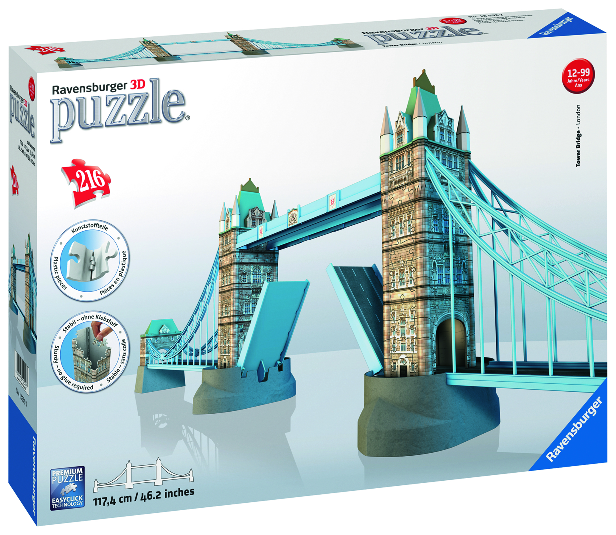 Tower Bridge - Puzzle 3D
