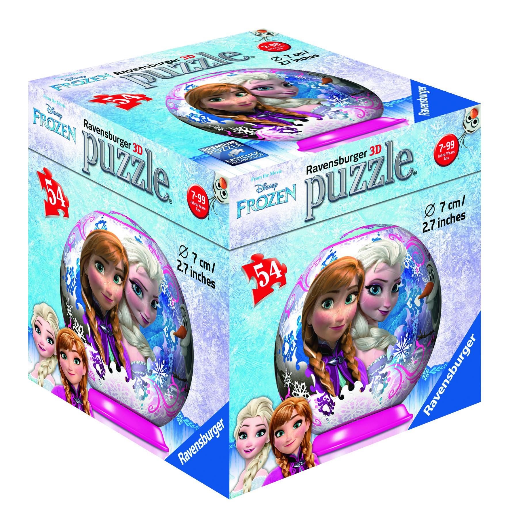 Puzzle La reine de Neiges - puzzle 3D - 54 pièces - Ravenburger