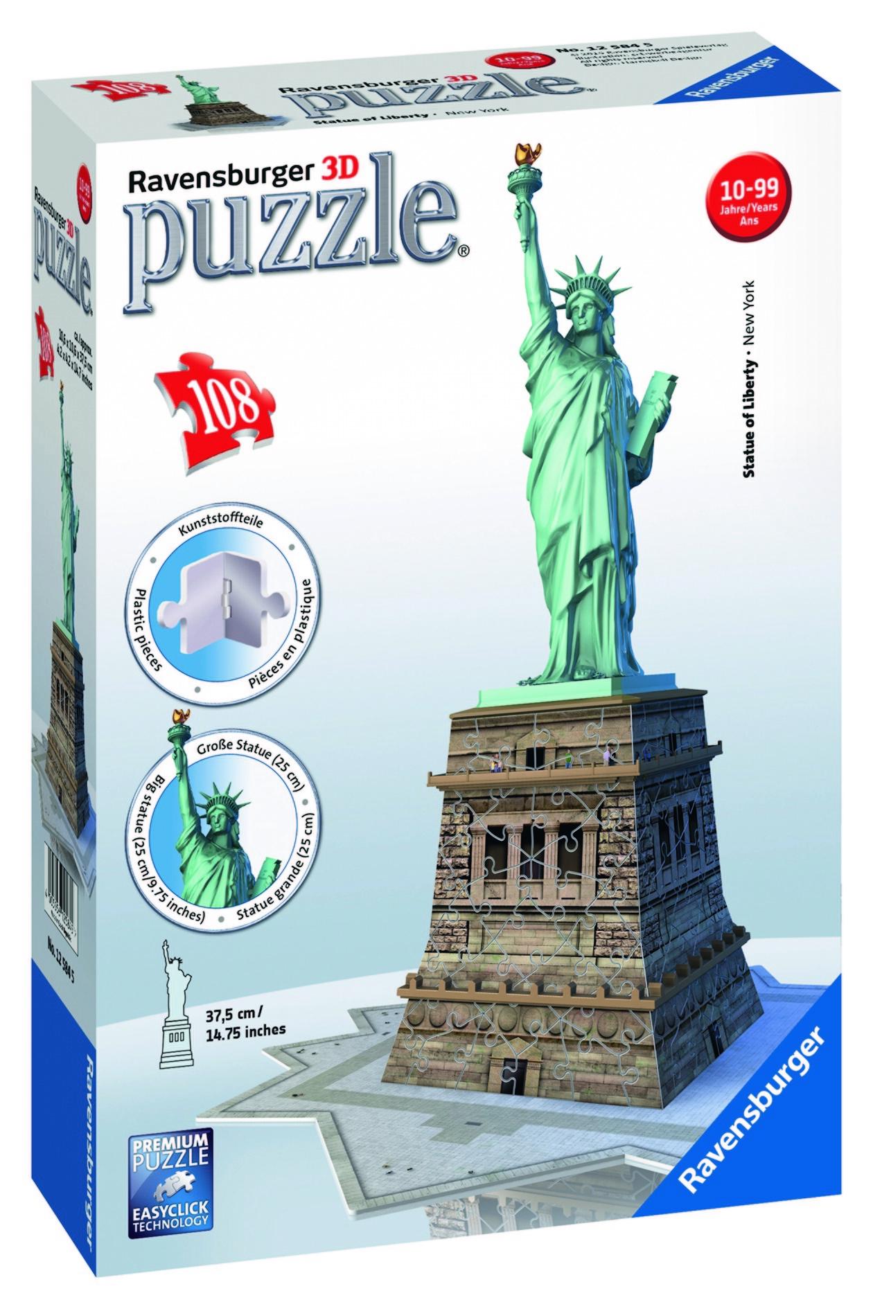 Puzzle 3D - Statue de la Liberté