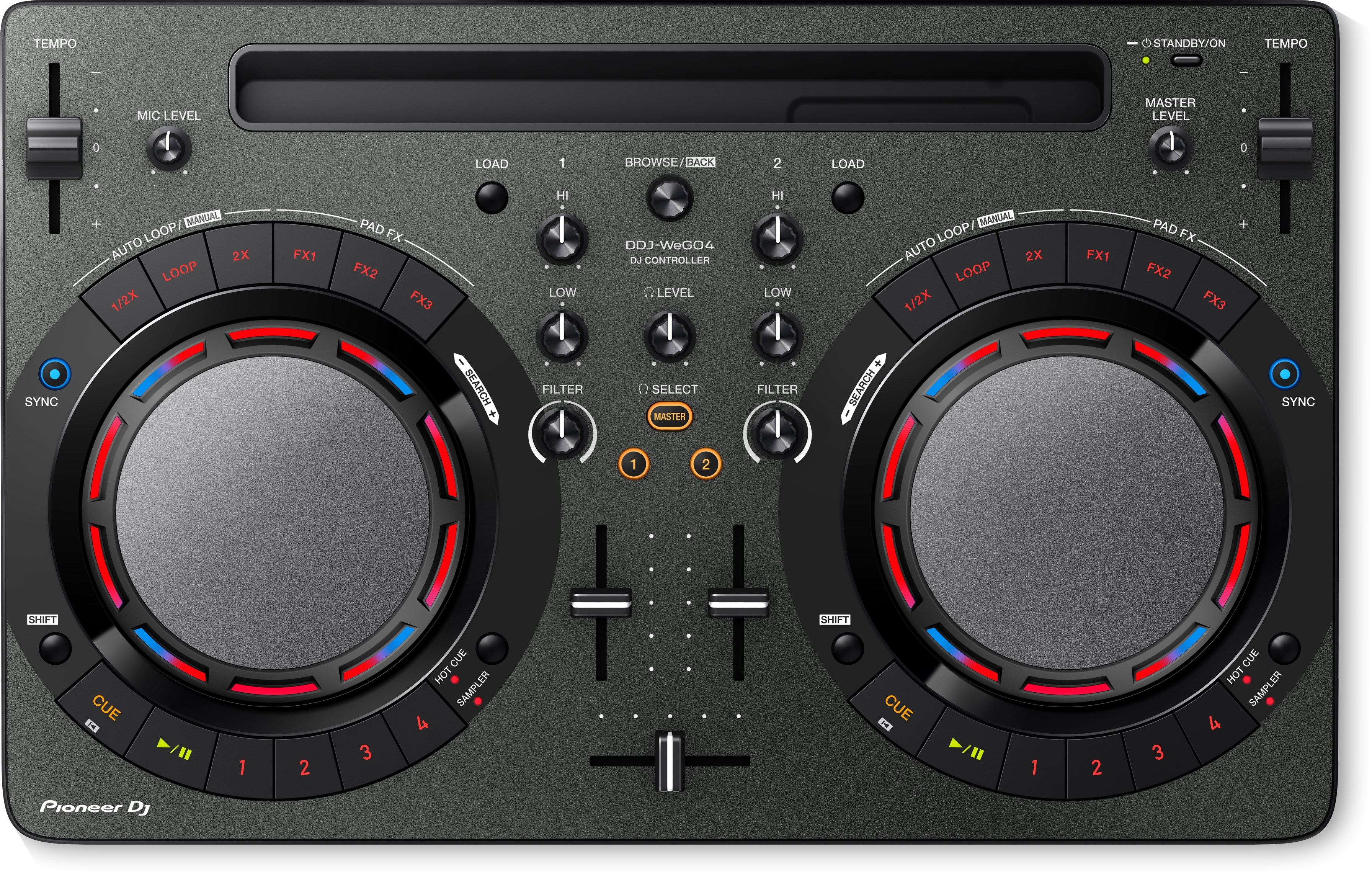 Pioneer DJ - DDJWeGO4K Contrôleur DJ