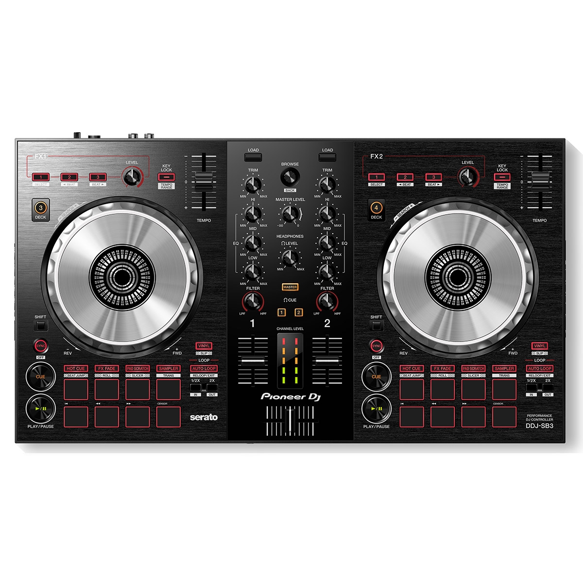 Contrôleur DJ - DDJ-SB3 - Pioneer DJ