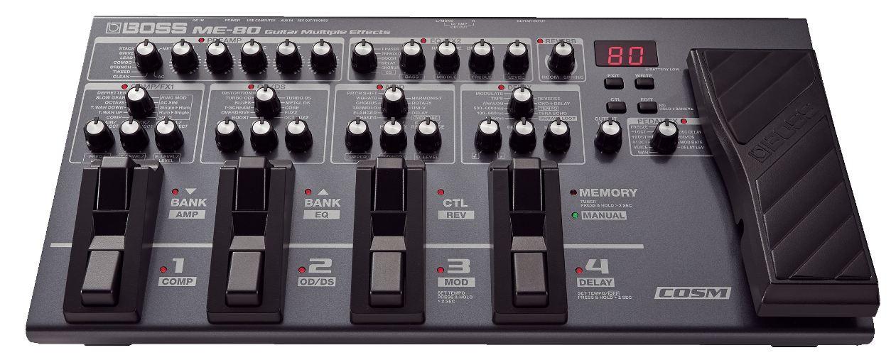 Boss - Multi-effets pour guitare ME-80