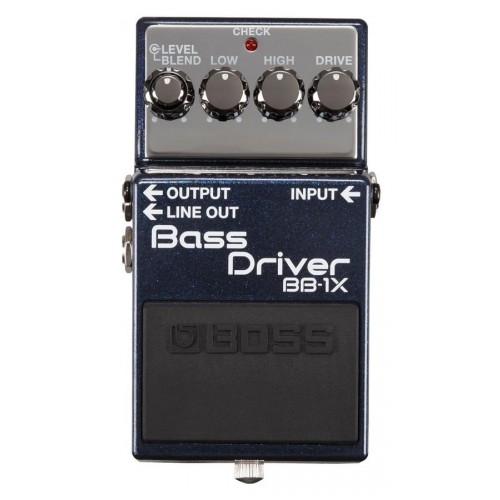 Boss - BB-1X Bass Driver Pédale d\'effet